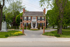 Hôtel de ville Gananoque photo stock