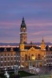 Hôtel de ville, Gyor, Hongrie Images libres de droits
