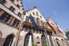 Hôtel de ville historique de Francfort Photos libres de droits