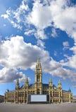 Hôtel de ville historique de la Vienne-Autriche sur le DA ensoleillé Photo libre de droits
