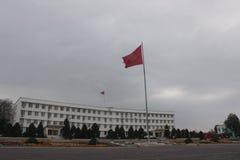 Hôtel de ville, Kirghizistan Osh Image libre de droits