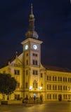 Hôtel de ville, Loket, République Tchèque Images libres de droits