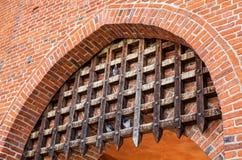 Hôtel de ville médiéval de ville d'Olsztyn, Warmia et Masuria, Pologne Photographie stock libre de droits