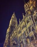 Hôtel de ville Munich Photo stock