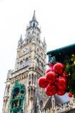 Hôtel de ville neuf à Munich, Allemagne Photographie stock libre de droits