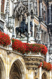 Hôtel de ville neuf à Munich, Allemagne Photographie stock