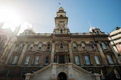 Hôtel de ville, Nouvelle-Zélande de Dunedin image libre de droits
