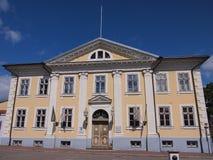 Hôtel de ville (Pärnu, Estonie) image libre de droits