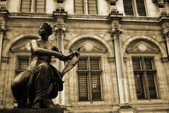 Hôtel De Ville Paris France Photo stock