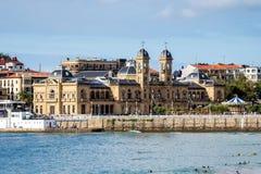 H?tel de Ville San Sebastian - ? Donostia, Espagne image libre de droits