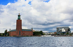 Hôtel de ville, Stockholm, Suède Photo libre de droits