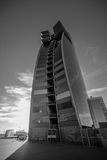 Hôtel de W Barcelone, également connu sous le nom de voiles d'hôtel Image libre de droits