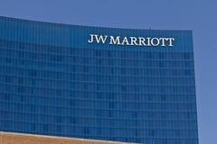 Hôtel du centre I de Jw Marriott Photo stock