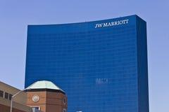 Hôtel du centre III de Jw Marriott Image libre de droits