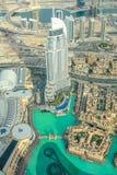 Hôtel Dubaï d'adresse photos libres de droits