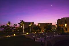 Hôtel en Oman Images libres de droits