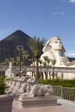 Hôtel et casino de Louxor à Las Vegas, Nevada photos libres de droits