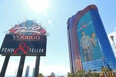 Hôtel et casino de Rio Photos stock