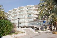 Hôtel et restaurant de Maritimo Photo libre de droits
