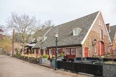 Hôtel Gouden Leeuw dans la plus petite ville aux Pays-Bas Images libres de droits