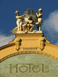 hôtel grand d'europa Photographie stock