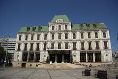 Hôtel grand Traian dans Iasi (Roumanie) Images libres de droits