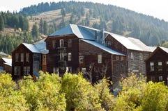 Hôtel historique de ville de l'Idaho Photographie stock