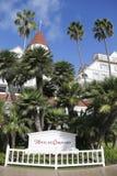 Hôtel historique Del Coronado à San Diego Photos stock