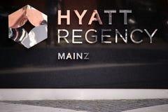 Hôtel Hyatt Regency Mayence Photo libre de droits