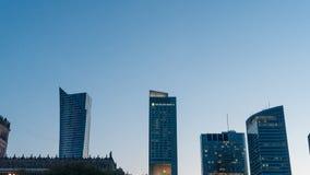Hôtel intercontinental à Varsovie Images libres de droits