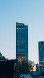 Hôtel intercontinental à Varsovie Photo libre de droits