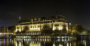 Hôtel intercontinental Amsterdam d'Amstel Photos stock