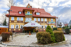 Hôtel Kasprowy Wierch dans Zakopane Photographie stock libre de droits