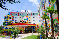 Hôtel la Floride de Legoland image libre de droits