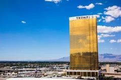 Hôtel Las Vegas d'atout Image libre de droits