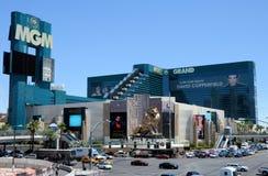 Hôtel Las Vegas de MGM Image stock