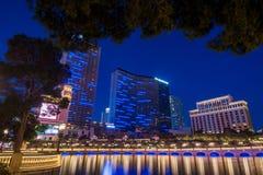 Hôtel Las Vegas de pont de Bellagio Images stock