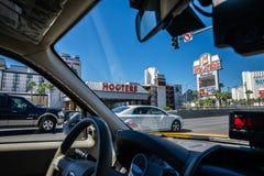 Hôtel Las Vegas Nevada de casino de sirènes Photographie stock libre de droits
