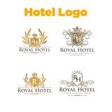 Hôtel Logo Template Photo stock