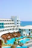 Hôtel luxueux moderne avec des villas de VIP Photo libre de droits