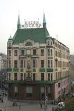 Hôtel Moscou à Belgrade images libres de droits
