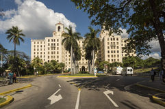 Hôtel Nacional La Havane Image libre de droits