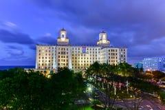 Hôtel national - La Havane, Cuba Photos stock