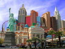 hôtel New York Photographie stock