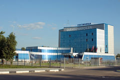Le bâtiment moderne dans la région de Moscou, Russie Images libres de droits