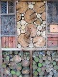 Hôtel pour des insectes Photographie stock