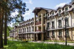 Hôtel qui respecte l'environnement Photo libre de droits