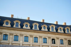 Hôtel Ritz Paris en construction Photo stock