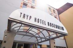 Hôtel Rosenheim de Tryp image stock