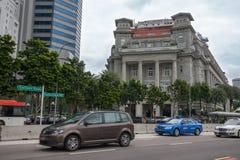 Hôtel Singapour de baie de Fullerton image stock